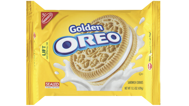 PHOTO: Golden Oreo launched in 2004.