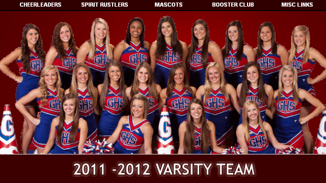 PHOTO: The Grapevine cheerleading squad.