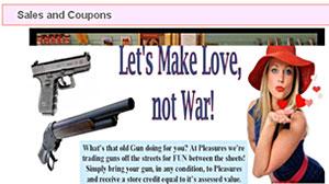 Photo: Guns for fun