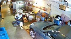 PHOTO: Bill Oxidean wrestled a gun away from an armed man who entered his garage.