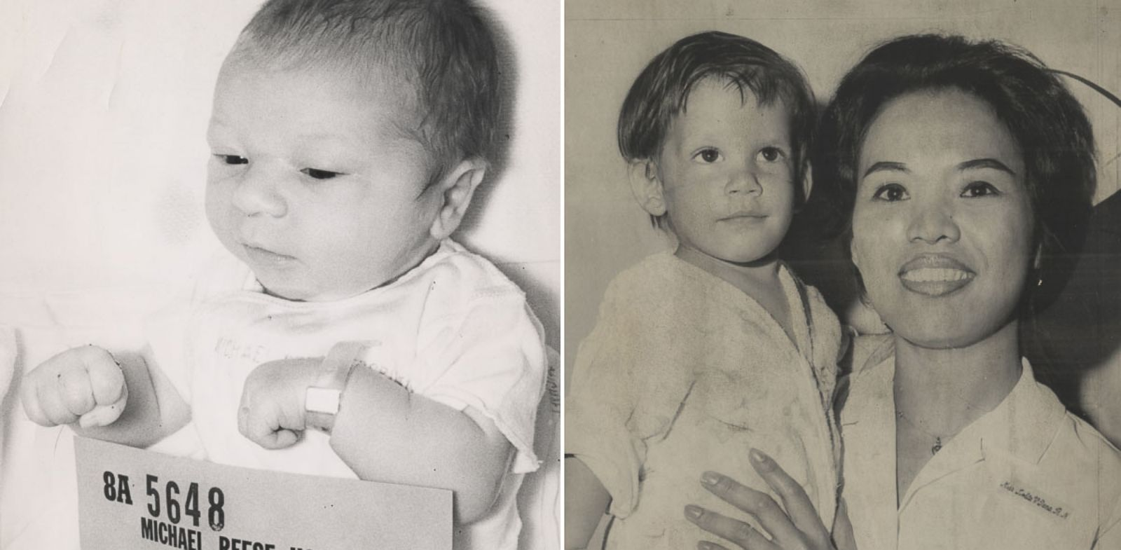 PHOTO: In 1964, the baby on the left was stolen from a Chicago, Ill., hospital. Fourteen months later, in Newark, N.J., the little boy on the right was found abandoned.