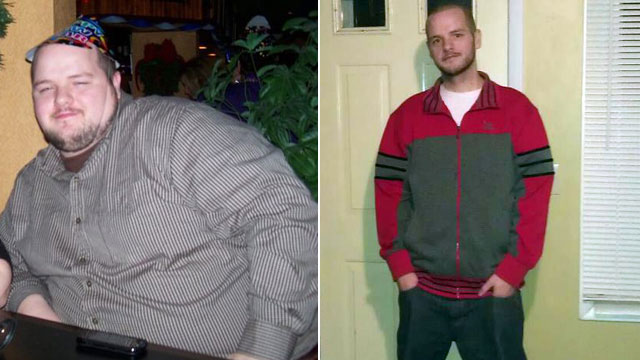 PHOTO: James Wornicks bet with his wife helped him lose nearly 200 pounds