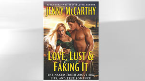 "PHOTO The cover for the book ""Love, Lust & Faking it"" by Jenny McCarthy is shown."
