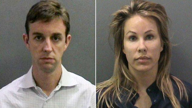 PHOTO: Kent and Jill Easter were arrested for allegedly planting drugs on a parent volunteer at an elementary school in Irvine, Calif.