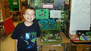 PHOTO Kyron Horman, a 7-year-old Portland, Ore., boy disappeared Friday, June 4, 2010, at Skyline Elementary School, shortly after leaving an early morning science fair, where he presented his project on tree frogs.