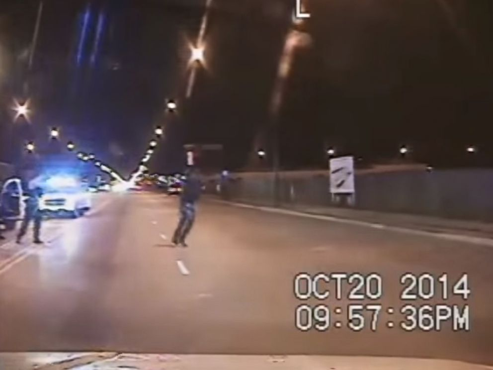 PHOTO: Chicago police released dash cam footage of the fatal Oct. 20, 2014 shooting of Laquan McDonald on Nov. 24, 2015.
