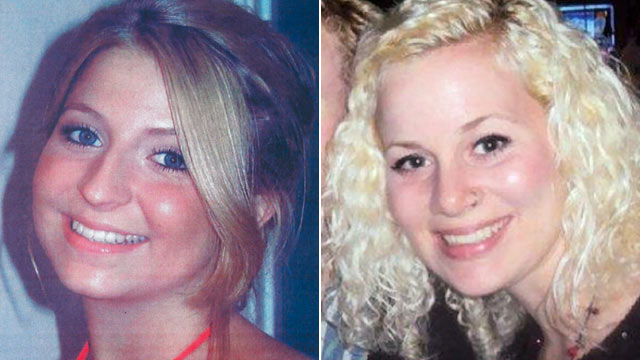 "PHOTO: Lauren Spierer, left, and Michaela ""Mickey"" Shunick disappeared almost exactly one year apart, under similar circumstances."