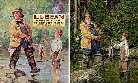 ht ll bean dm 120203 wblog L.L. Bean Pay Homage to Vintage Covers for 100th Anniversary