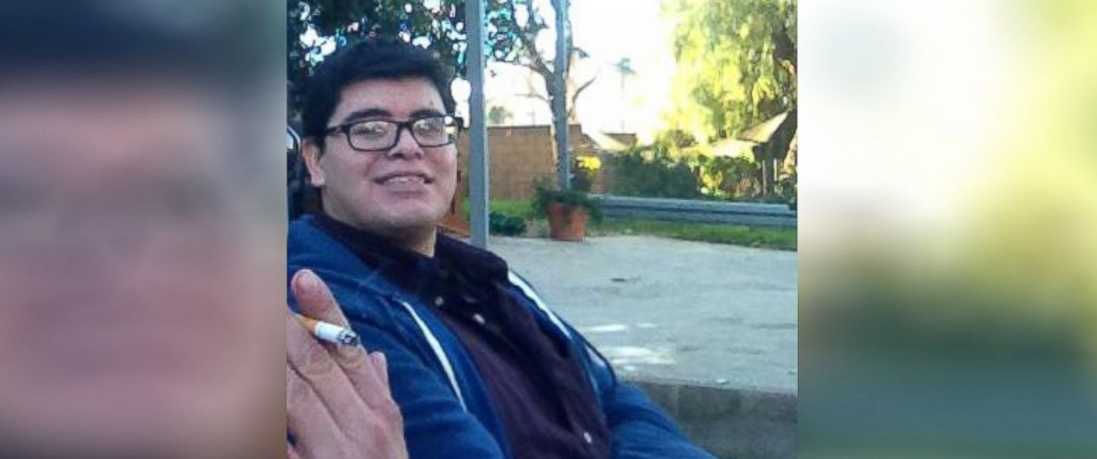 PHOTO: Enrique Marquez, seen here in a photograph taken in January and uploaded to Facebook.