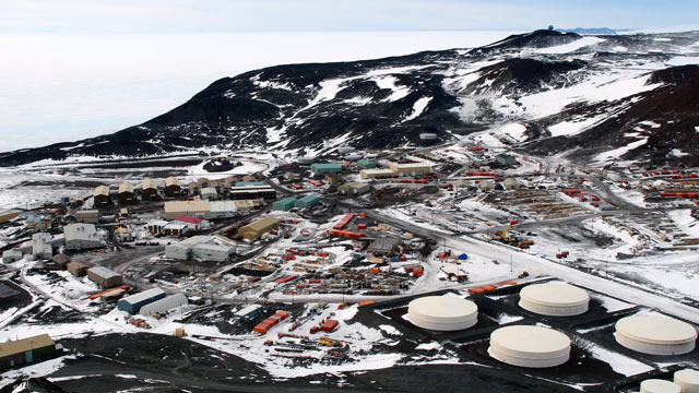 PHOTO: File photo of McMurdo Station on Ross Island, Antarctica, taken from Observation Hill, Nov. 2006.