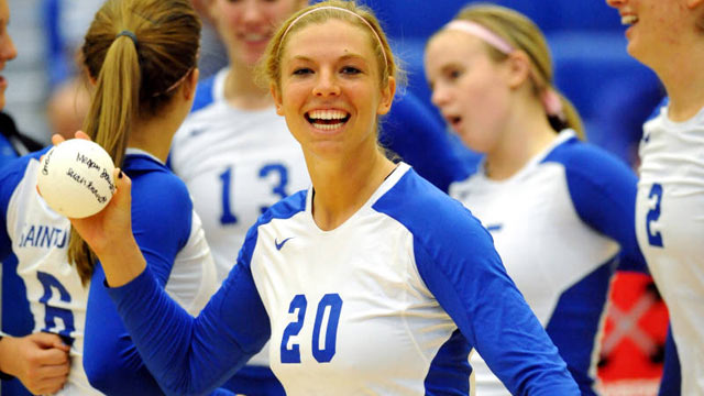 PHOTO: Megan Boken, seen here in this undated handout photo from Saint Louis Athletics Department, was shot and killed hours before an alumni volleyball game at Saint Louis University on August 20, 2012.