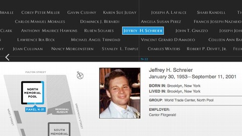 ht misspelled name 911 memorial nt 110913 wblog 9/11 Victims Name Misspelled on Memorial