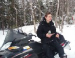 PHOTO: Missing teenager Nicholas Joy, age 17, from Medford, Mass. was located at 9:00 AM, March 5, 2013 by a snowmobiler Joseph Paul on Caribou Pond Road on the west side of Sugarloaf Mountain in Maine.