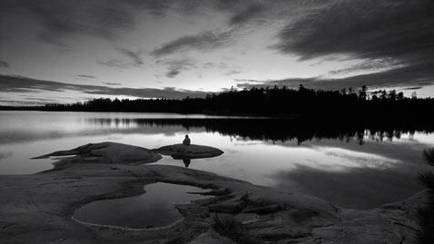 ht obabiki lake sunset nt 110901 wblog Flickr Photographer: Peter Bowers