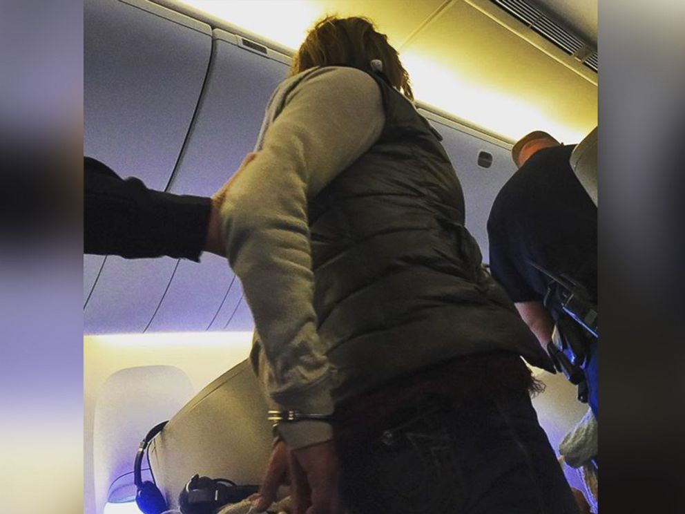 PHOTO: This photo was posted to Instagram on Nov. 17, 2015 with the text, Those arent bracelets... Someone got arrested ... Big thank you to the @britishairways crew #boston.