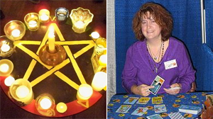 PHOTO Patti Wingington is a soccer mom. She is the vice-president of her local PTA. And she?s a witch.