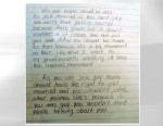 PHOTO: Fourth graders thoughtful pro-gay marriage essay goes viral after being posted to the site, Reddit.com