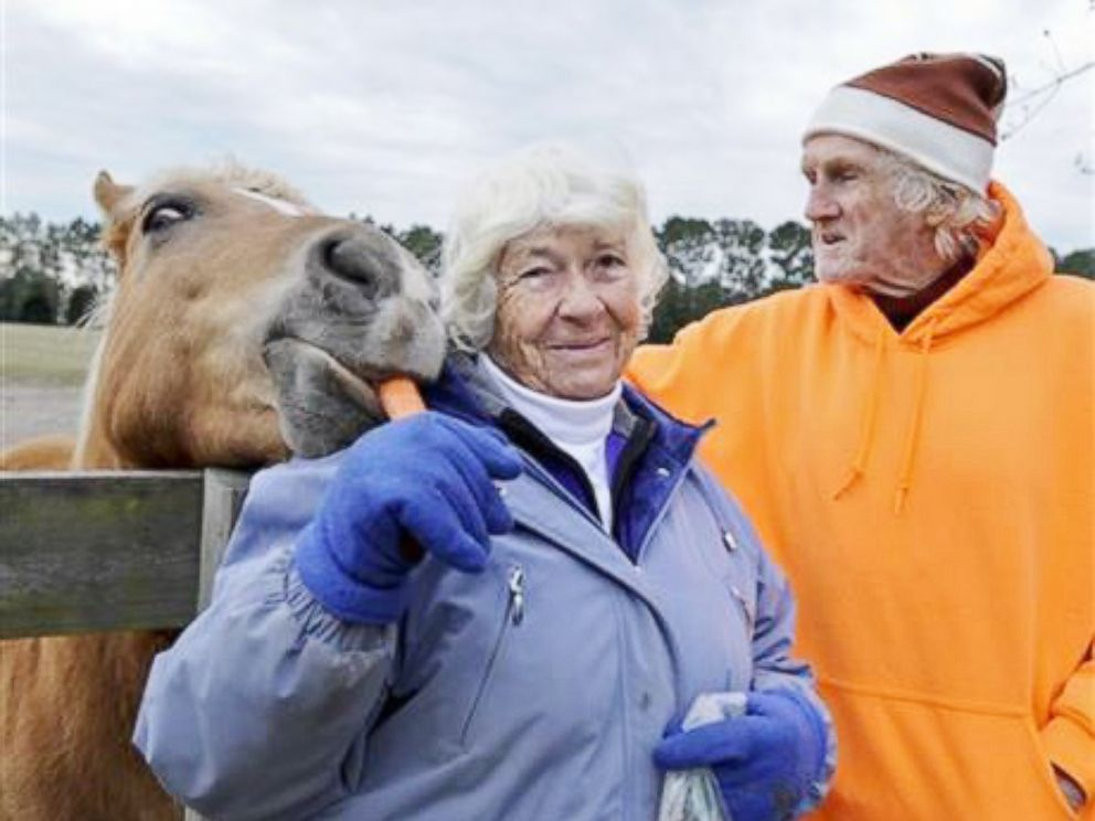 PHOTO: Peter and Mary Gregory dreamed of owning a horse farm since they first began dating as teenagers.