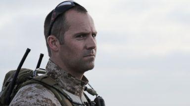 PHOTO: Rorke Denver in full military uniform.