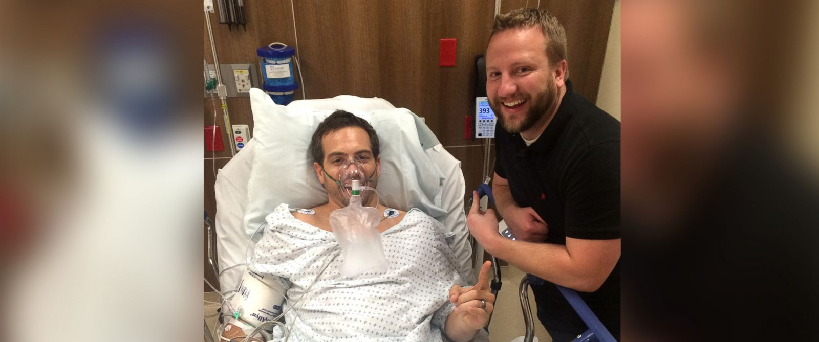 PHOTO: Ryan Roche was hospitalized after chugging eggnog during a work party.