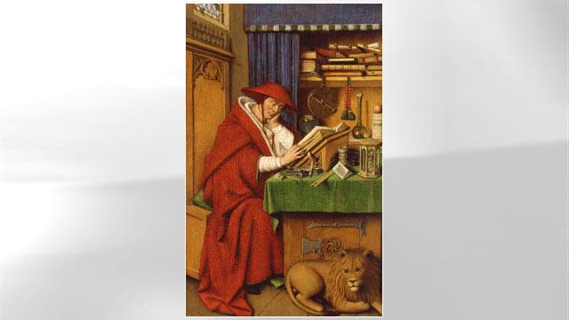 PHOTO:Saint Jerome in his Study, Jan van Eyck