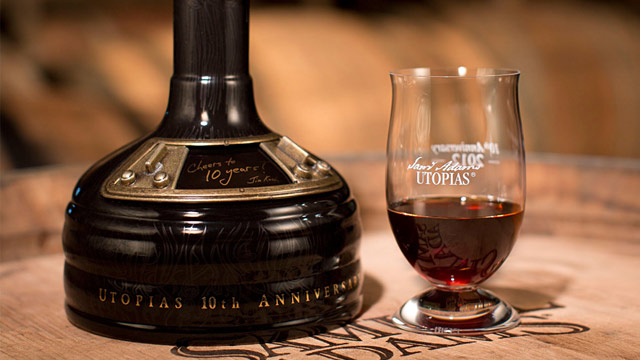 PHOTO: Samuel Adams Utopias beer