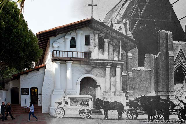 ht san francisco mission dolores ll 130410 wblog San Francisco: 1906 Earthquake and Now   in Composite
