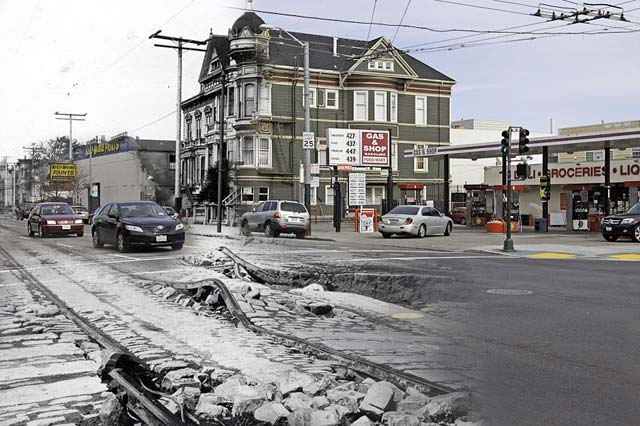 ht san francisco s van ness ll 130410 wblog San Francisco: 1906 Earthquake and Now   in Composite