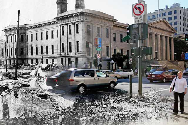 ht san francisco us mint ll 130410 wblog San Francisco: 1906 Earthquake and Now   in Composite