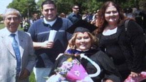 Paralyzed law school graduate fights for bar