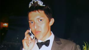 Photo: Gay Teen Receives Prom Queen Crown: Los Angeles High School Senior Sergio Garcia,18, Says He Feels Invincable After His Win