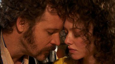 "PHOTO: Peter Sarsgaard and Amanda Seyfried star in ""Lovelace."""