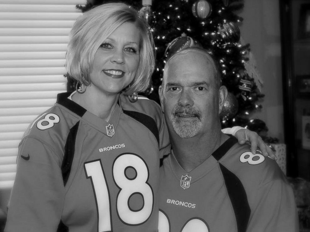 PHOTO: Shelly and Jim Golay were married for 28 years before he died of brain cancer in June 2014.
