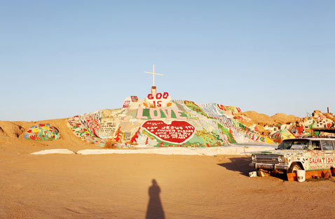 ht slab city salvation mountain yvonne thg 120327 wblog Life in Slab City; An American Squat Town