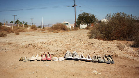 ht slab city shoes yvonne thg 120327 wblog Life in Slab City; An American Squat Town