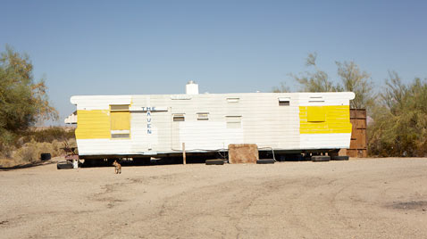 ht slab city yellow trailer yvonne thg 120327 wblog Life in Slab City; An American Squat Town