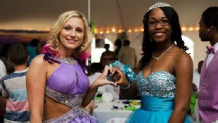 PHOTO: WIth the help of the community, students at Wilcox County High School in Georgia raised $15,000 so they could hold the schools first integrated prom.