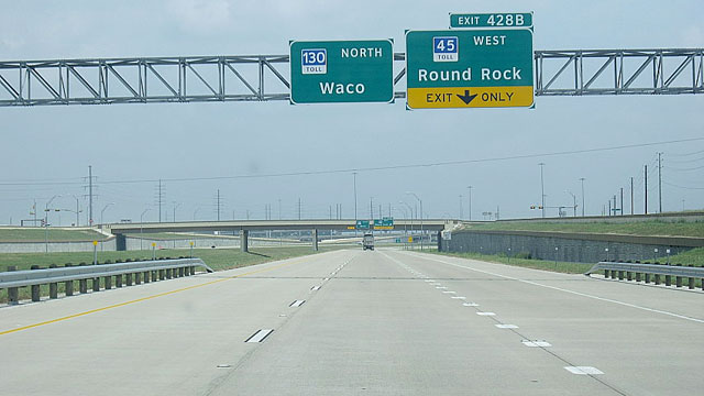 PHOTO: Texas Highway 130 has become the nations fastest highway with an 85-mile-per-hour speed limit.