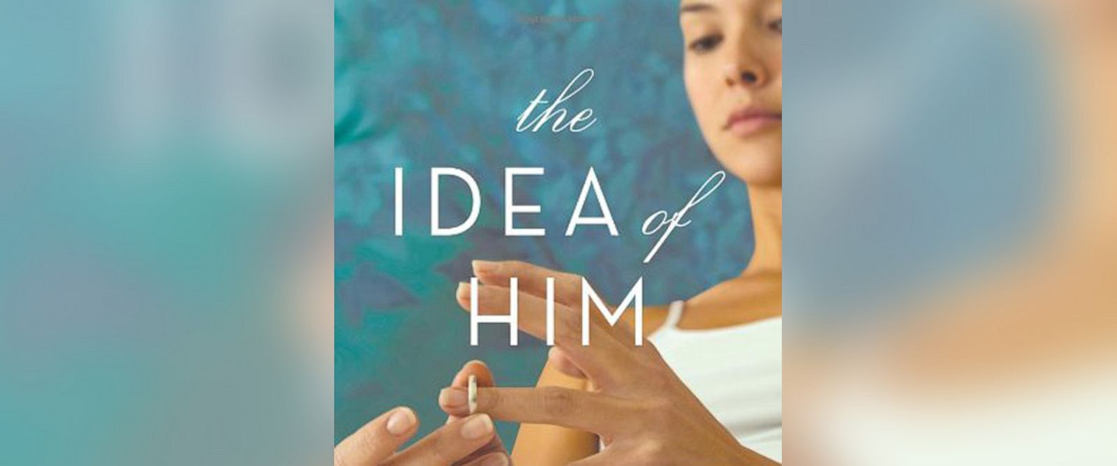 """PHOTO: Pictured is the cover for Holly Petersons """"The Idea of Him: A Novel."""""""