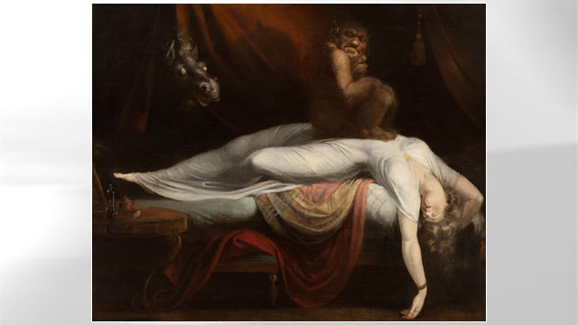 PHOTO:The Nightmare, Henry Fuseli