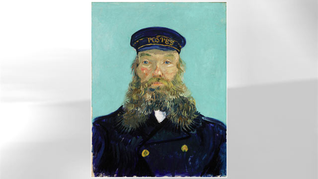 PHOTO:The Postman, Vincent van Gogh