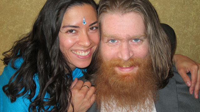PHOTO: Thomas Young is seen in this undated handout photo with his wife, Claudia Cuellar; Young has decided to end his life by refusing food and water after suffering from injuries from the Iraq war for 9 years.