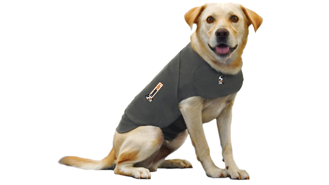 PHOTO: The Thundershirt, seen here in this undated handout photo, claims to calm dogs anxiety.