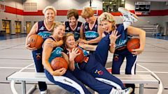 PHOTO: The Tigerettes basketball team are a group of retired women training for their 8th gold medal at the Senior Olympics.