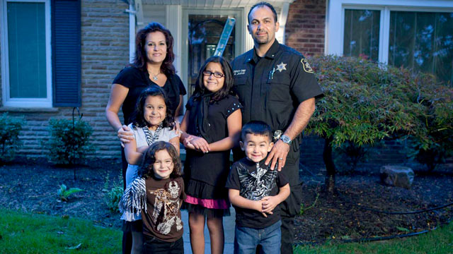 "PHOTO: The Jaafar family fatured on TLCs ""All-American Muslims."""