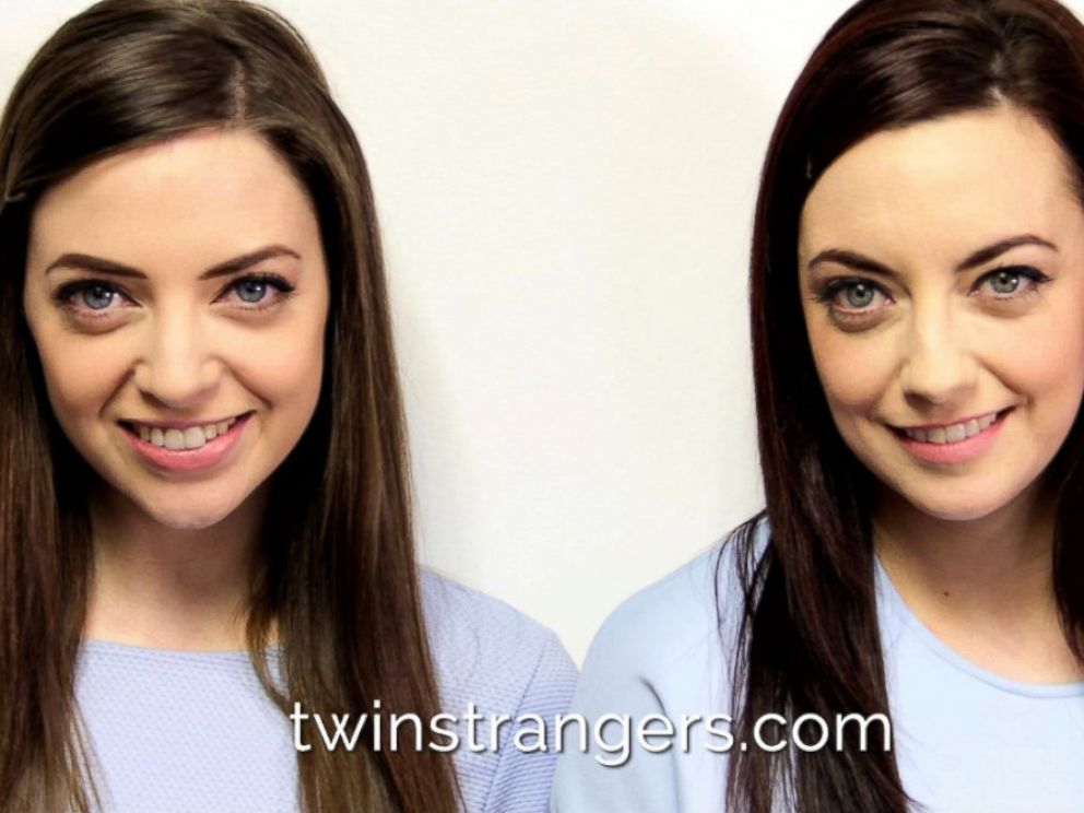 PHOTO: Ireland native Niamh Geaney is pictured here with her first doppelganger, Karen Branigan.