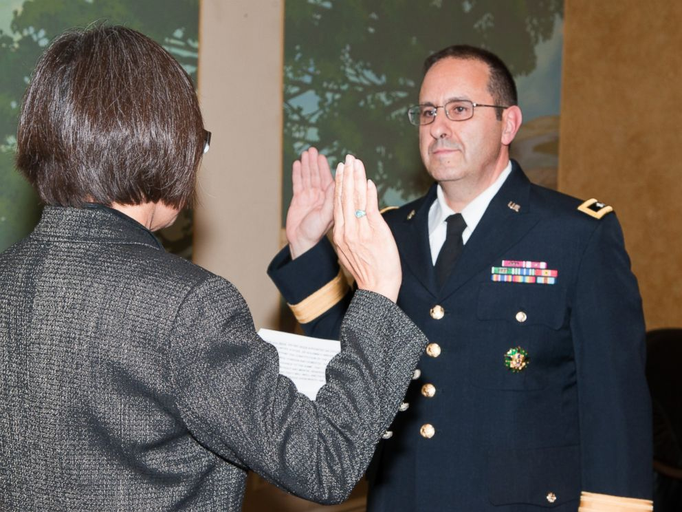 PHOTO: Heidi Shyu, Assistant Secretary of the Army (Acquisition, Logistics and Technology), hosted the promotion ceremony of Brig. Gen. Harold J. Greene at the Fort Myer Officers Club in this Aug. 30, 2012 file photo.