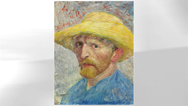 PHOTO:Van Gogh Self Portrait