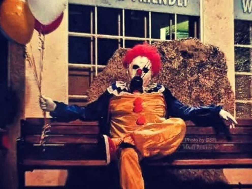 PHOTO: This photo was posted to the Wasco Clown instagram account on Oct. 7, 2014.