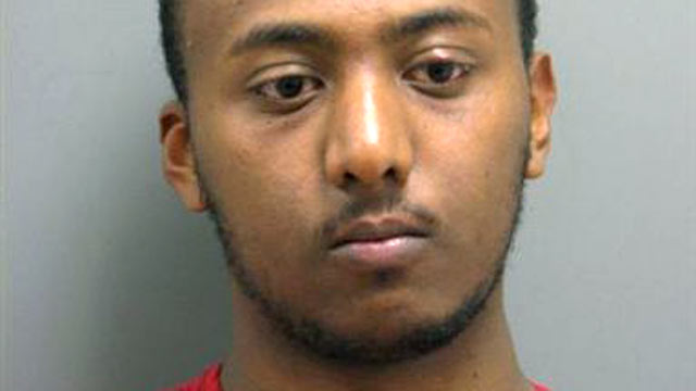 PHOTO:Yonathan Melaku, 22, of Alexandria, VA was arrested and charged with four counts of Grand Larceny.